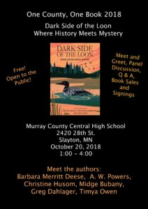 Poster for Murray County Read October 2018